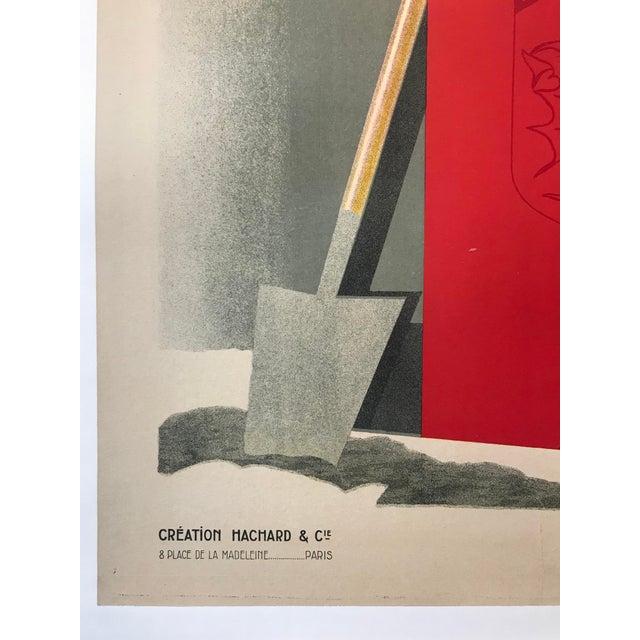 Art Deco 1928 Original French Art Deco Poster, Paul Colin, Exposition De Nancy (Large) For Sale - Image 3 of 9