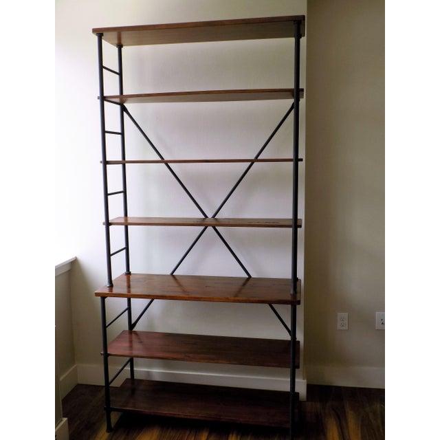 Ballard Designs Tubular Metal Bookcase | Chairish