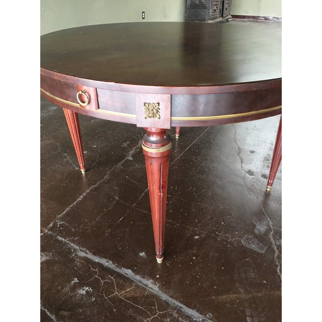 18th Century French Louis XVI Style Circular Top Table For Sale In Denver - Image 6 of 7