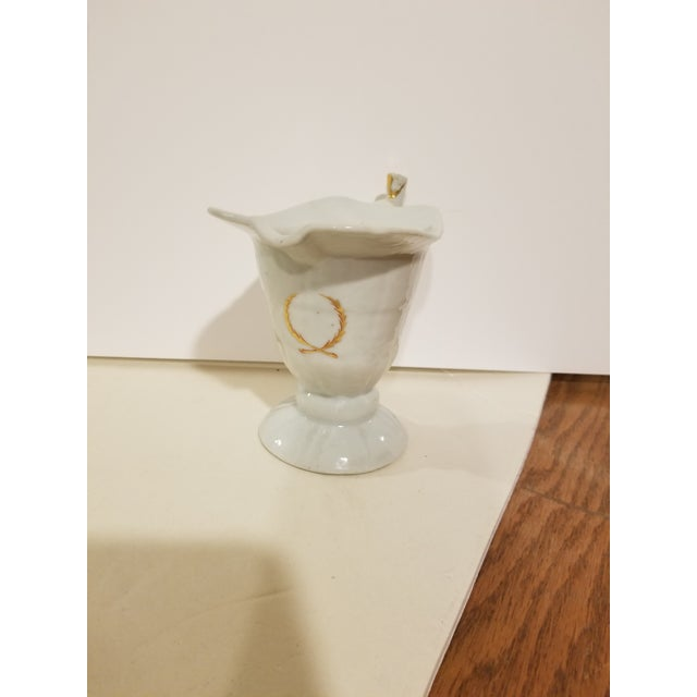 Asian Chinese Export Helmet Form Creamer For Sale - Image 3 of 11
