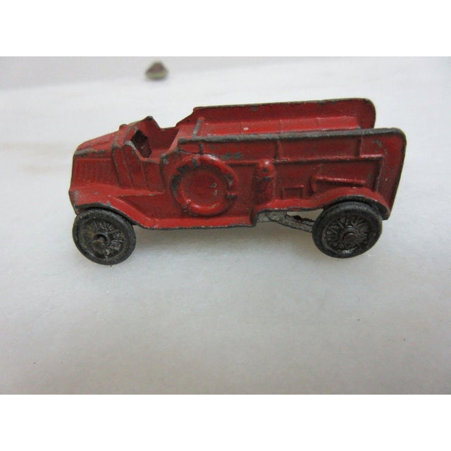 1930s Antique Diecast Tootsie Toy Fire Truck For Sale In Philadelphia - Image 6 of 6