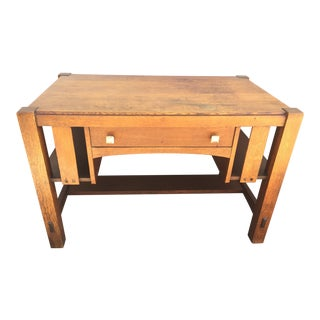 Limbert Arts & Crafts Desk For Sale