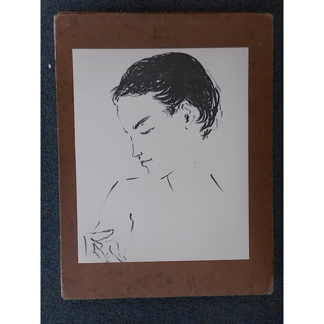 This lithograph (offset) by the well listed french artist Marcel Vertes (Hungary/France 1895-1961) is from an edition...