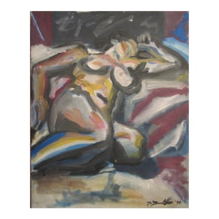 Abstract Nude Painting, 1998 For Sale