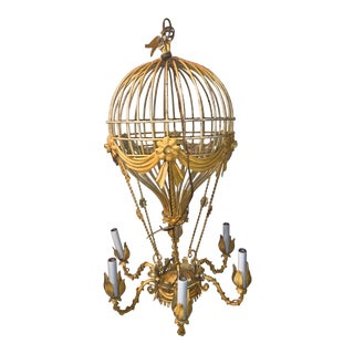 1950s Hot Air Balloon Chandelier For Sale