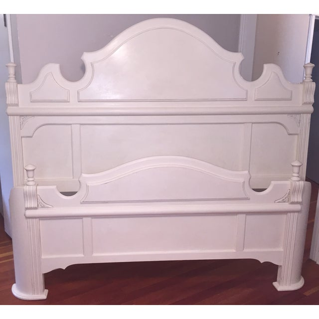 White King Size Bed Frame - Image 7 of 9