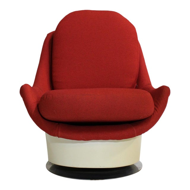 Milo Baughman Swivel Lounge Chair - Image 1 of 8