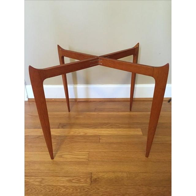 Fritz Hansen Danish Modern Folding Tray Table - Image 4 of 7