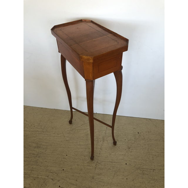 19th Century Biedermeier Side Table or Stand For Sale - Image 11 of 12