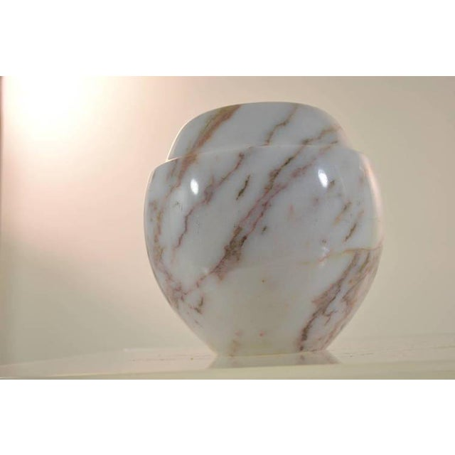 Late 20th Century Polished Marble Vase For Sale - Image 5 of 8
