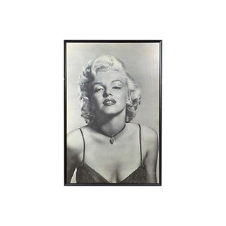Framed Marilyn Monroe Poster For Sale