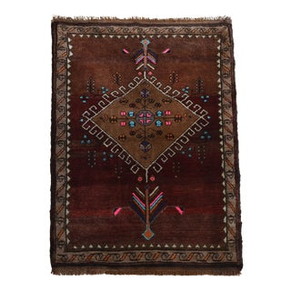 "-Fountain of Love- Theme Hand Knotted Turkish Rug - 3'4"" X 5'8"" For Sale"