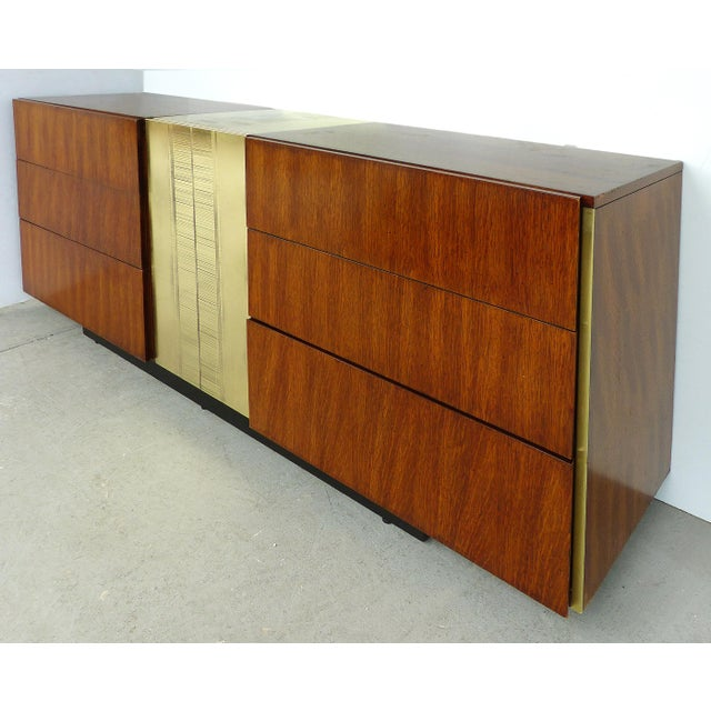 Mid Century Modern Dresser By National Furniture Co Of Mt