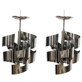 Image of Chrome Chandeliers