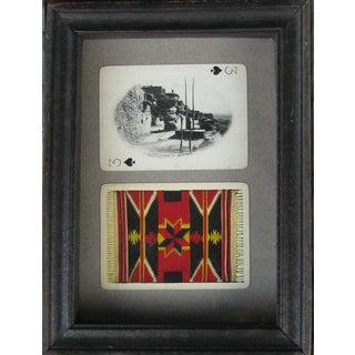 Vintage Southwestern Photo Souvenir Cards, Framed