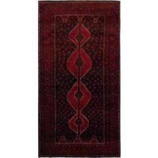 Late 20th Century Afghan Rug - 3′6″ × 7′ For Sale