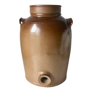 "French Terra Cotta 12""Wine Jar For Sale"