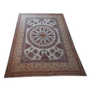 Persian Batik Textile - 7′1″ × 9′4″ For Sale