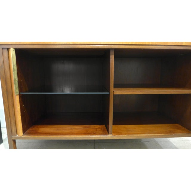 Tambour Front Cabinet by Edward Wormley - Image 8 of 11