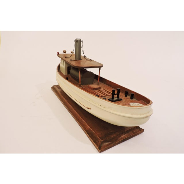 Anonymous Wooden Model Of A Prohibition Rum Runner For Sale - Image 4 of 7