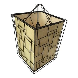 Mid-Century Geometric Light Pendant/Chandelier For Sale
