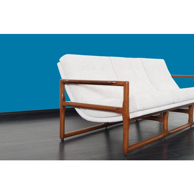 """1970s Mid Century """"Cube"""" Sofa by Milo Baughman For Sale - Image 5 of 9"""