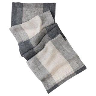 Banning Patterned Linen Table Runner For Sale