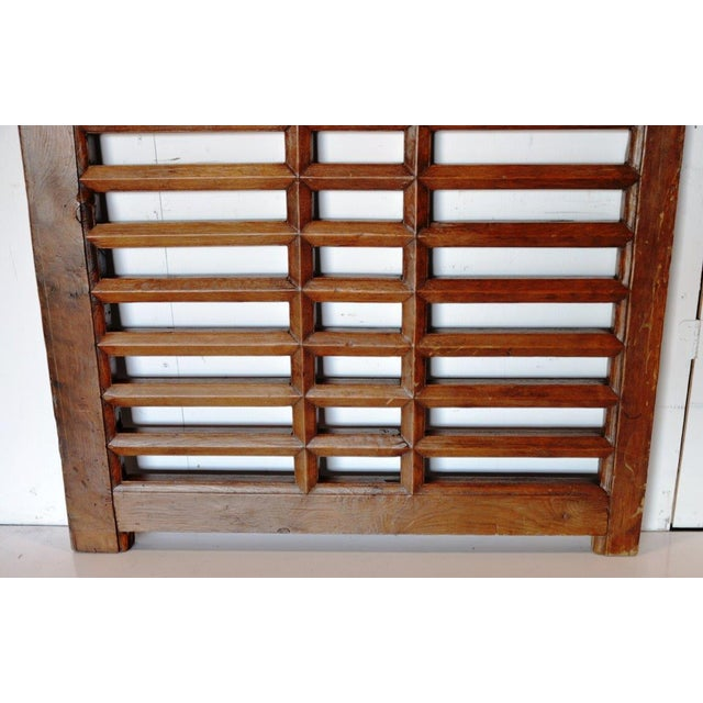 1970s 1970s Chinese Wooden Gate/Room Divider For Sale - Image 5 of 8
