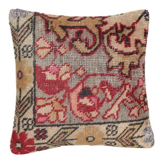 Vintage Anatolian Rug Pillow Cover For Sale