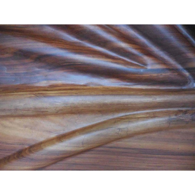 Modern Live Edge Undulating Wall Sculpture or Headboard For Sale - Image 5 of 10
