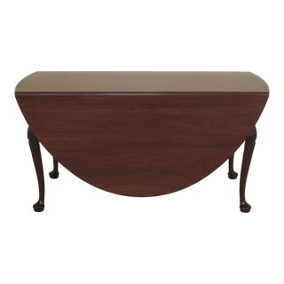 Kittinger Colonial Williamsburg Mahogany Drop Leaf Table For Sale