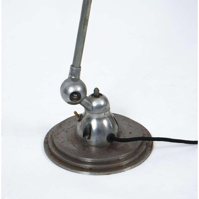 French Jean Louis Domecq Industrial Floor Lamp for Jielde For Sale - Image 3 of 6