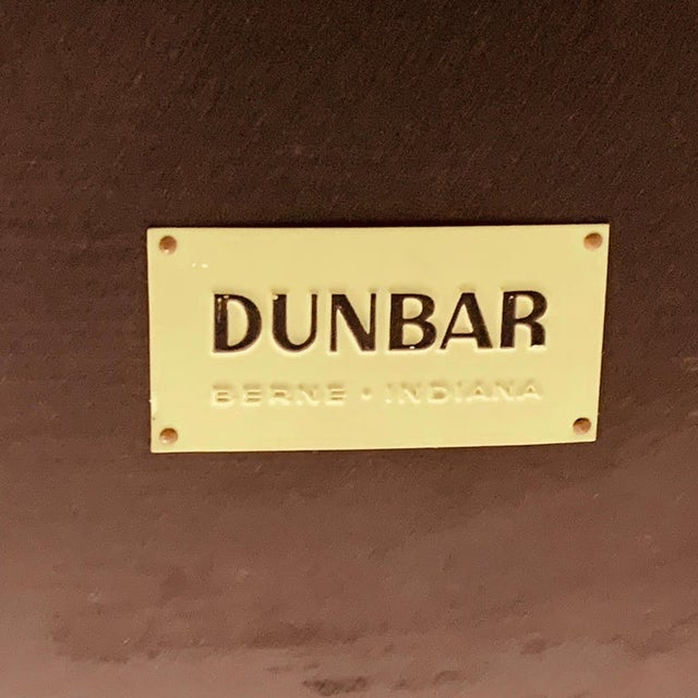 Edward Wormley for Dunbar Black Micarta & Ash Model 5403 End Table W/ Shelf For Sale In New York - Image 6 of 8