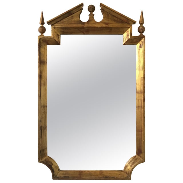 Wood 1960s Classical Giltwood Mirror by Palladio For Sale - Image 7 of 7