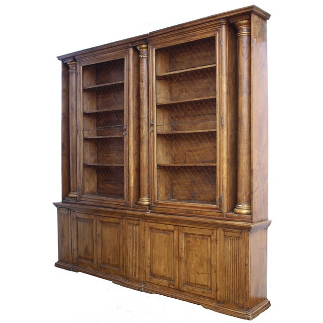 Substantial and Well-Appointed English Bookcase or China Cabinet - Image 6 of 6
