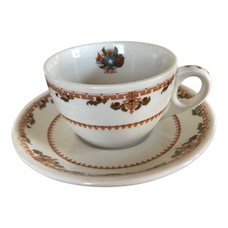 1920s Shenango China Cup and Saucer - a Pair For Sale