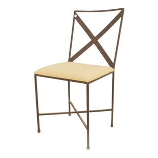 Set of American Mid-Century Steel Frame Chairs For Sale