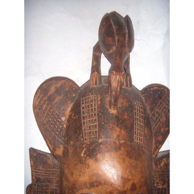 Carved African Tribal Mask For Sale - Image 7 of 11