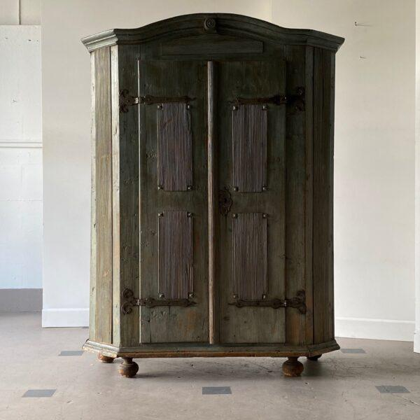 18th Century Swedish Painted Petite Herb Cabinet For Sale - Image 10 of 10
