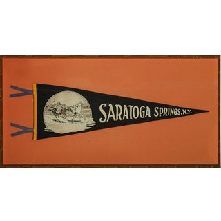 """Saratoga Springs, Ny. Pennant"" For Sale"