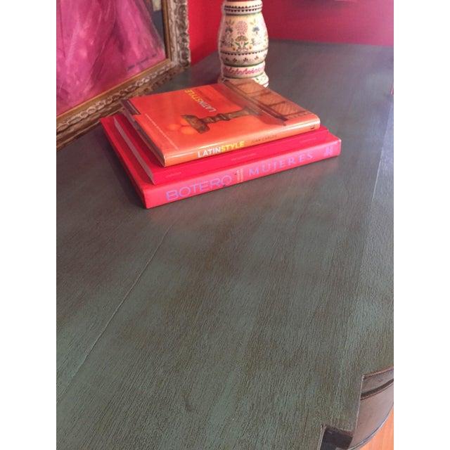 Vintage Solid Wood Buffet Sideboard Server - Image 6 of 9