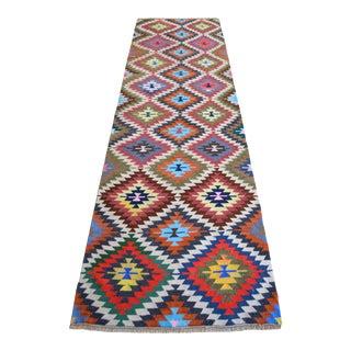 Vintage Turkish Hand Woven Kilim Rug For Sale