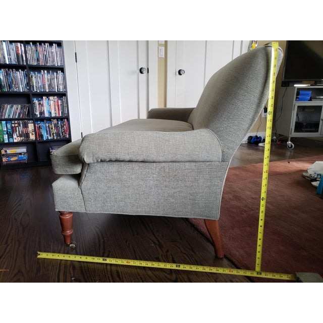 Traditional Style Lee Industries Loveseat For Sale - Image 9 of 9