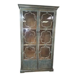 Vintage Blue Bookcase