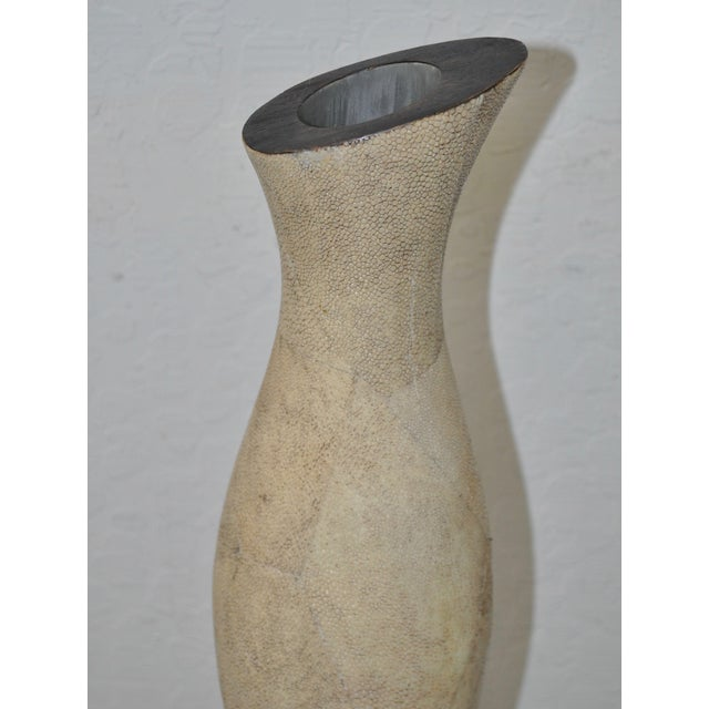 R &Y Augousti Shagreen Stingray Vase - Image 5 of 6