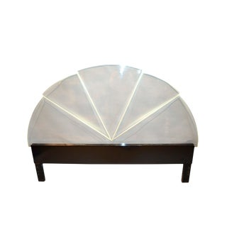 Mid-Century Modern Lucite King Size Headboard For Sale