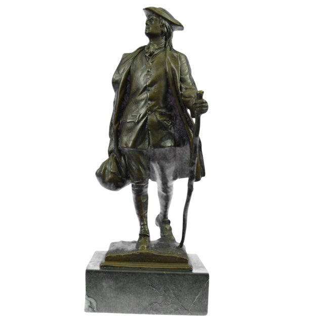 Benjamin Franklin Bronze Sculpture - Image 1 of 9