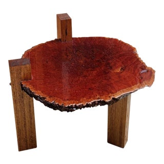 Mid-Century Modern Nakashima Attributed Wooden Studio Craft Table For Sale
