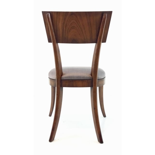 Modern Klismos Emerson Roswood Side Chair For Sale In Atlanta - Image 6 of 7
