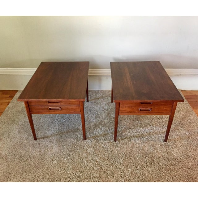 Mid-Century Modern Jack Cartwright End Tables for Founders - A Pair For Sale - Image 3 of 11